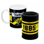 Richmond TIGERS AFL Mug and Can Cooler Pack
