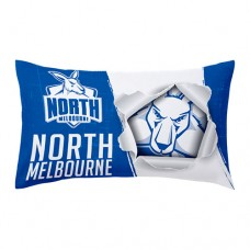 North Melbourne KANGAROOS AFL Double-sided Pillowcase