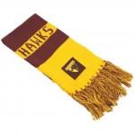 Hawthorn HAWKS AFL Bar Scarf