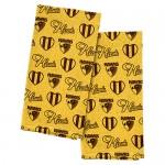 Hawthorn HAWKS AFL Tea towel 2 pack