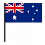 Australia Commonwealth Games Hand Games Flag 30x45cm