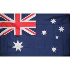 Australia Embroidered Flag pole 3x6ft