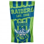 Canberra Raiders Supporters cape Flag 150x90cm