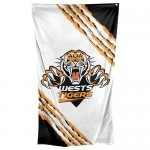 Wests Tigers Supporters Cape Flag 150x90cm