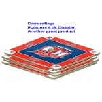 Sydney Roosters coasters 4pk