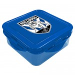 Canterbury Bulldogs NRL Snack Box Plastic Lunch Container