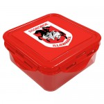 St George Dragons NRL snack Box Plastic Lunch Container