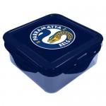 EELS Parramatta NRL Snack Box Plastic Lunch Container