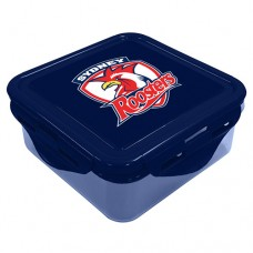 Sydney Roosters NRL Snack Box Plastic Lunch Container