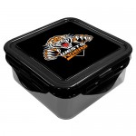 Wests Tigers NRL Snack Box Plastic Lunch Container