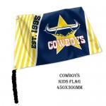 North Queensland Cowboys NRL Small kids flag