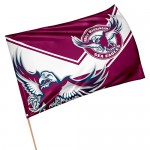 Manly Sea Eagles Medium game day flag 90x60cm