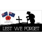 Lest we forget AUSTRALIA & NEW ZEALAND POPPY