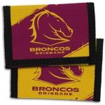 Brisbane Broncos NRL Velcro Wallets