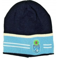NSW State of origin licenced Beanie