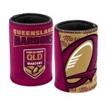 Queensland State of Origin NRL Team Beer Can/Bottle Stubby Holder Cooler