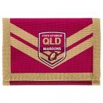 Queensland State of Origin Velcro Wallet