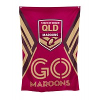 Queensland Maroons State of Origin 2019 Wall flag  100x70 cm