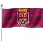 Queensland State of Origin NRL 180x90cm Outdoor Pole Flag.