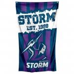 Melbourne Storm Supporter cape Flag 150x90cm