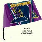 Melbourne Storm NRL Small kids flag