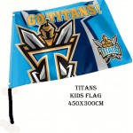 Gold Coast Titans NRL Small kids flag