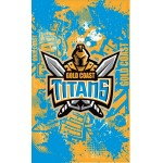 Gold Coast Titans Supporters Flag 150x90cm