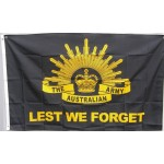 Australia Lest we forget Army flag